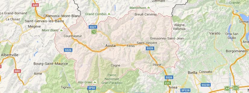 Traslochi Valle D'Aosta