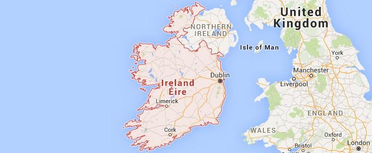 Traslochi Irlanda Italia