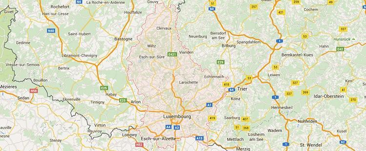 Traslochi Lussemburgo Italia