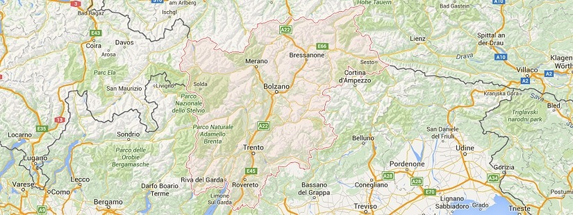 Traslochi Trentino Alto Adige